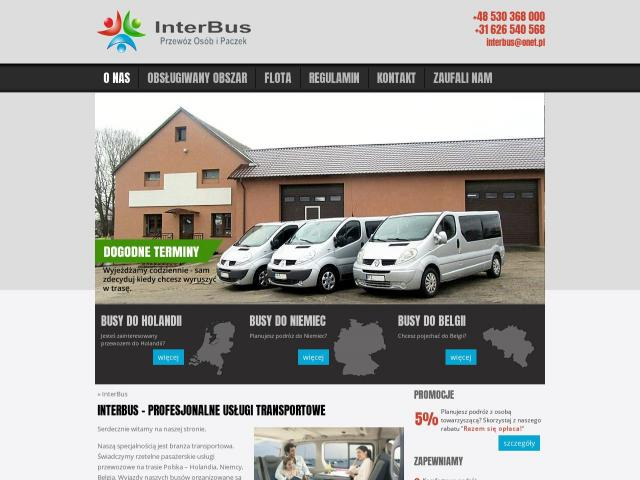 InterBus | Busy do holandii